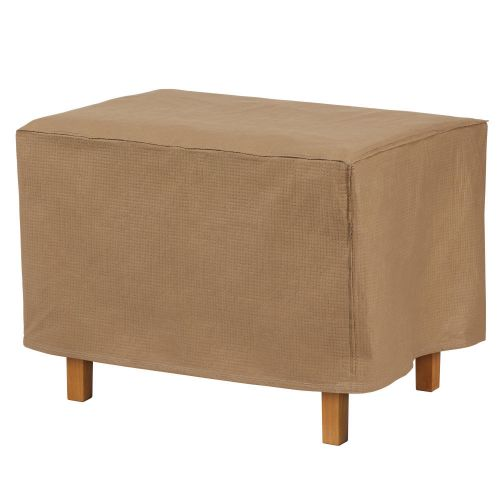 Essential Water-Resistant Rectangular Ottoman/Side Table Cover