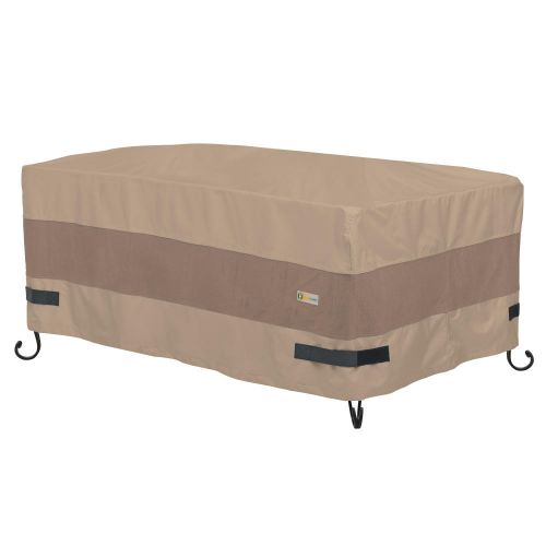Elegant Waterproof 54 Inch Rectangle Fire Pit Cover