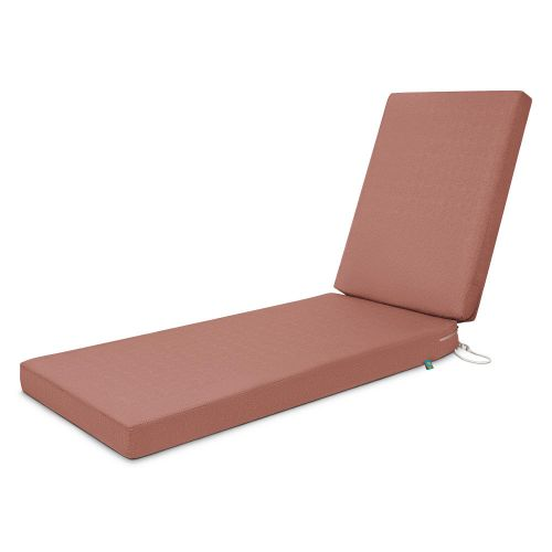 Weekend Water-Resistant Outdoor Chaise Cushion