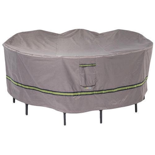 Soteria Waterproof Round Patio Table with Chairs Cover
