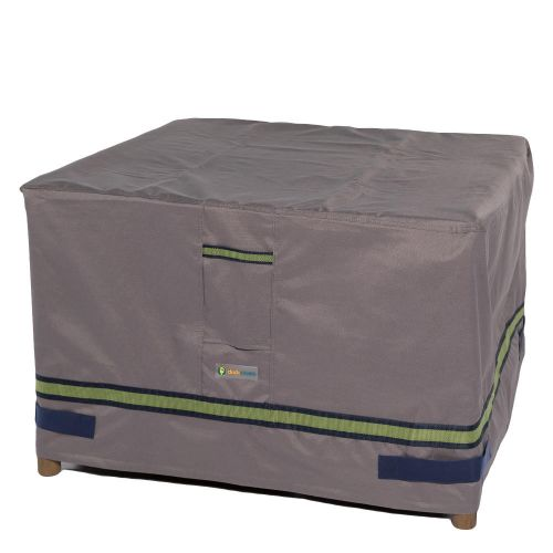 Soteria Waterproof Square Patio Ottoman/Side Table Cover