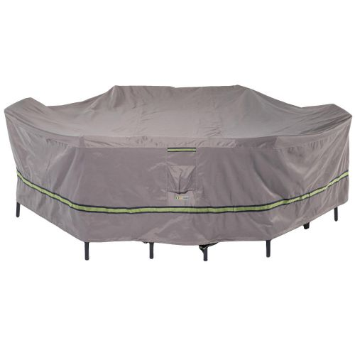 Soteria Waterproof Rectangular/Oval Patio Table with Chairs Cover