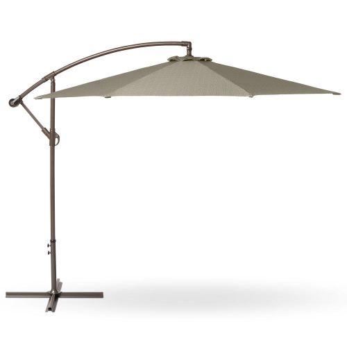 Weekend Patio Cantilever Umbrella, 10 Foot