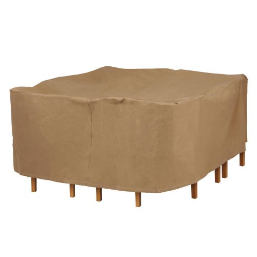 Essential Water-Resistant Square Table & Chair Set Cover