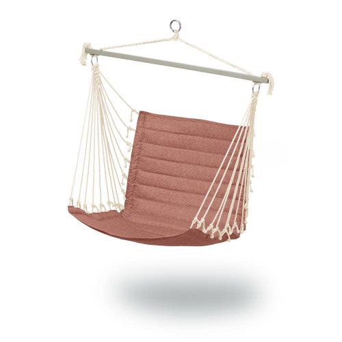 Weekend Quilted Hammock Chair, 27 x 49 x 39.5 Inch, Cedarwood