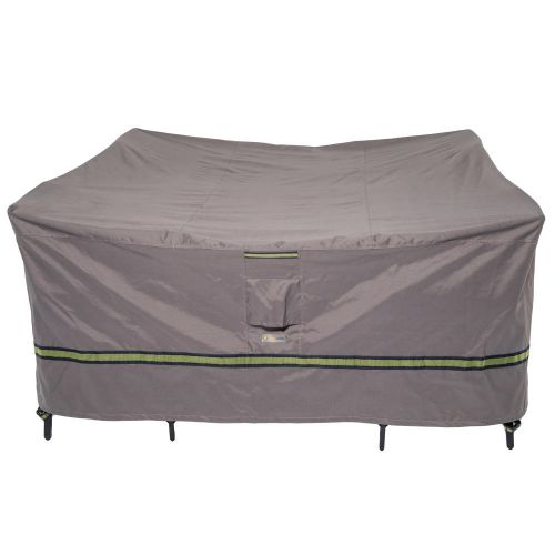 Soteria Waterproof Square Patio Table with Chairs Cover