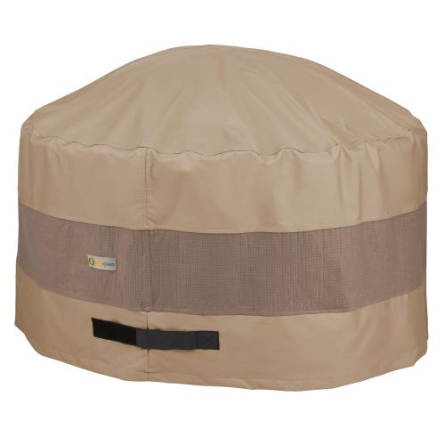 Elegant Waterproof Round Fire Pit Cover