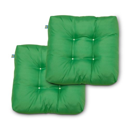 Water-Resistant Indoor/Outdoor Seat Cushions, 19 x 19 x 5 Inch, 2 Pack, Limeon