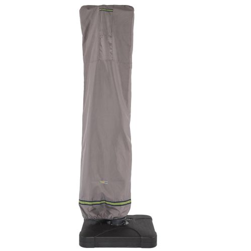 Soteria Waterproof 101 Inch Patio Offset Umbrella Cover with Integrated Installation Pole