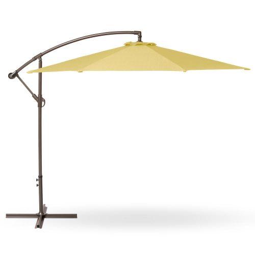 Weekend Patio Cantilever Umbrella, 10 Foot, Straw