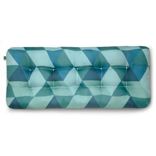 Water-Resistant Indoor/Outdoor Bench Cushion, 48 x 18 x 5 Inch