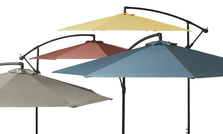 Weekend Offset Umbrellas